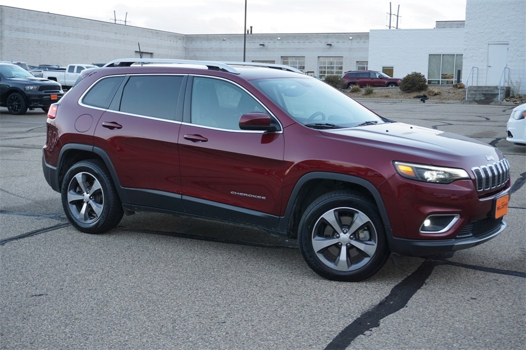 Certified 2019 Jeep Cherokee Limited with VIN 1C4PJMDXXKD467593 for sale in Lakeville, Minnesota