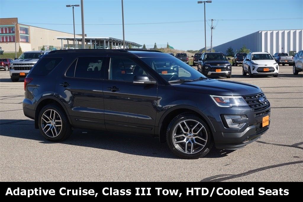 Used 2017 Ford Explorer Sport with VIN 1FM5K8GT7HGC04453 for sale in Lakeville, Minnesota