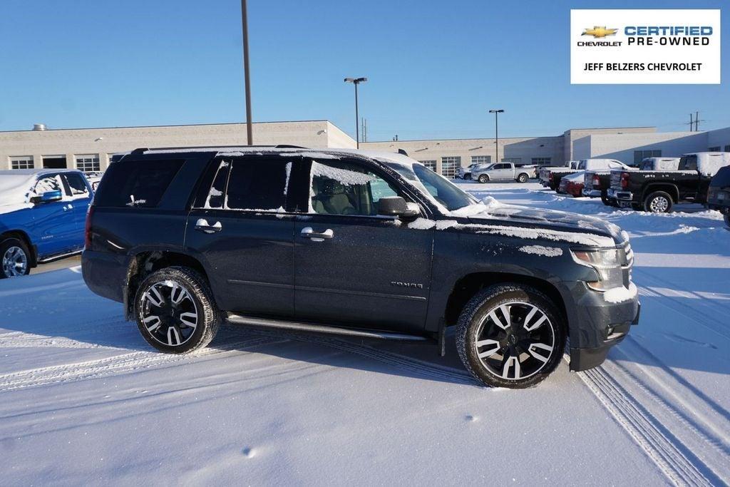 Certified 2019 Chevrolet Tahoe Premier with VIN 1GNSKCKC5KR117221 for sale in Lakeville, Minnesota