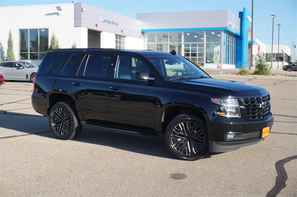 Certified 2020 Chevrolet Tahoe Premier with VIN 1GNSKCKJ3LR121414 for sale in Lakeville, Minnesota
