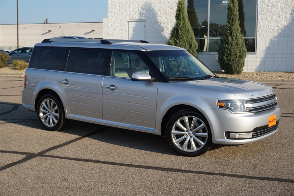 Used 2014 Ford Flex Limited with VIN 2FMGK5D84EBD40775 for sale in Lakeville, Minnesota