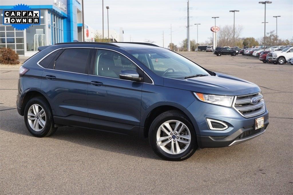 Used 2018 Ford Edge SEL with VIN 2FMPK4J86JBC27077 for sale in Lakeville, Minnesota