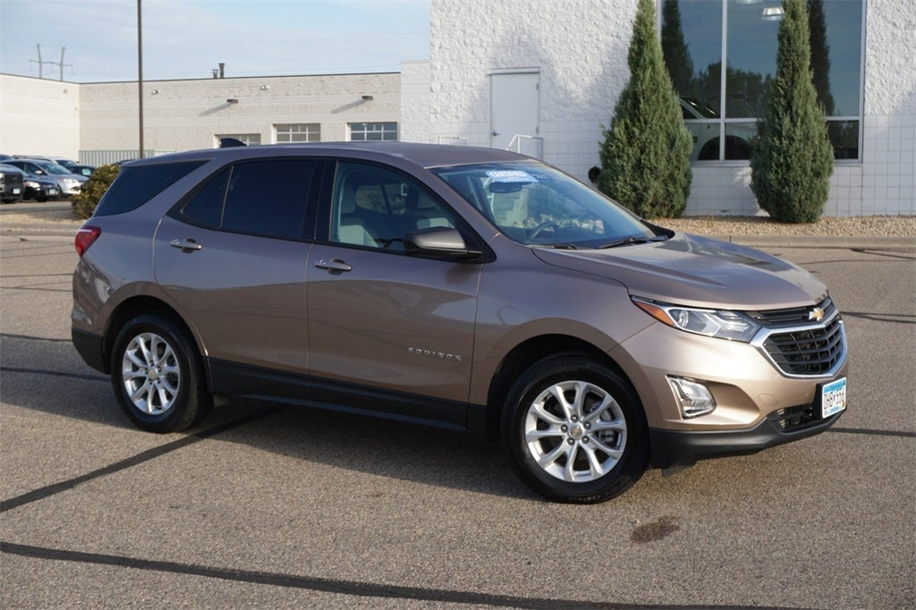 Certified 2019 Chevrolet Equinox LS with VIN 2GNAXHEV0K6264131 for sale in Lakeville, Minnesota