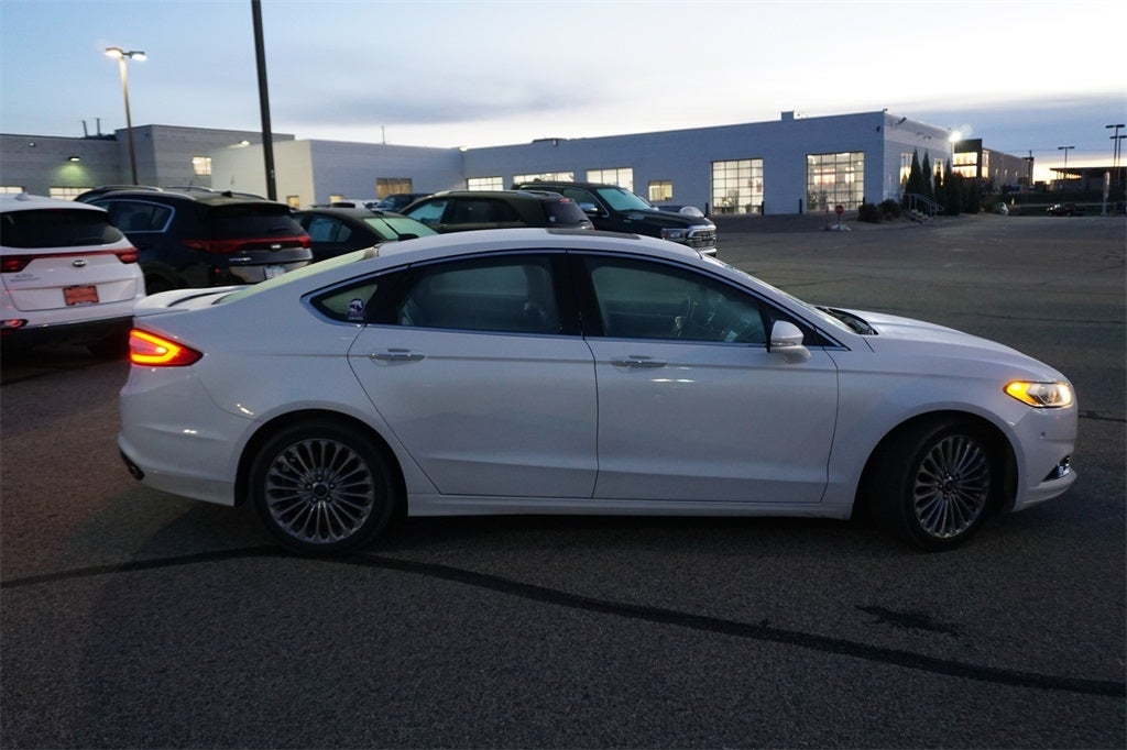 Used 2016 Ford Fusion Titanium with VIN 3FA6P0D98GR105920 for sale in Lakeville, Minnesota