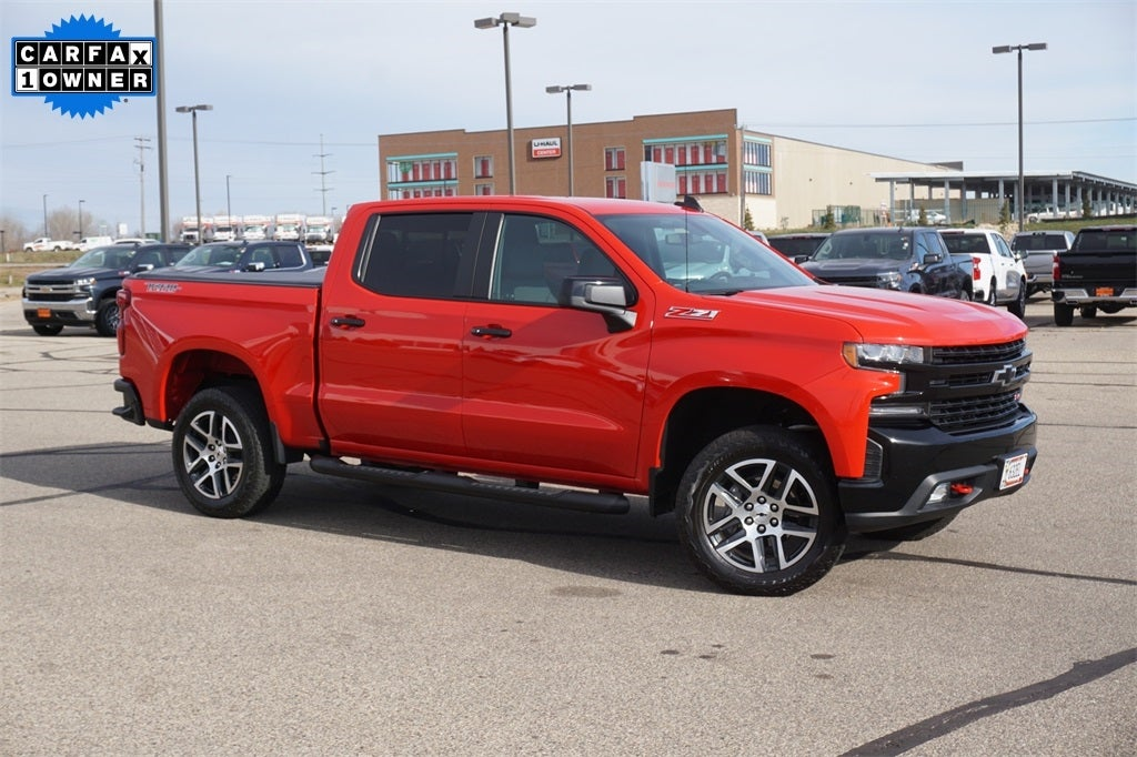 Certified 2019 Chevrolet Silverado 1500 LT Trail Boss with VIN 3GCPYFED2KG100363 for sale in Lakeville, Minnesota