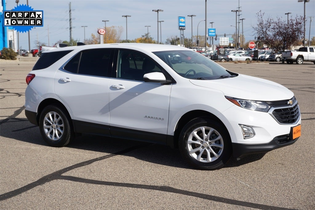 Certified 2019 Chevrolet Equinox LT with VIN 3GNAXUEV1KS585945 for sale in Lakeville, Minnesota
