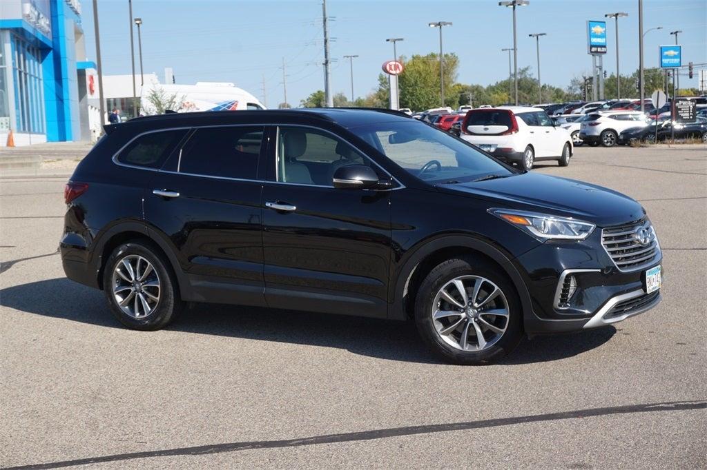 Used 2017 Hyundai Santa Fe SE with VIN KM8SNDHF5HU172115 for sale in Lakeville, Minnesota