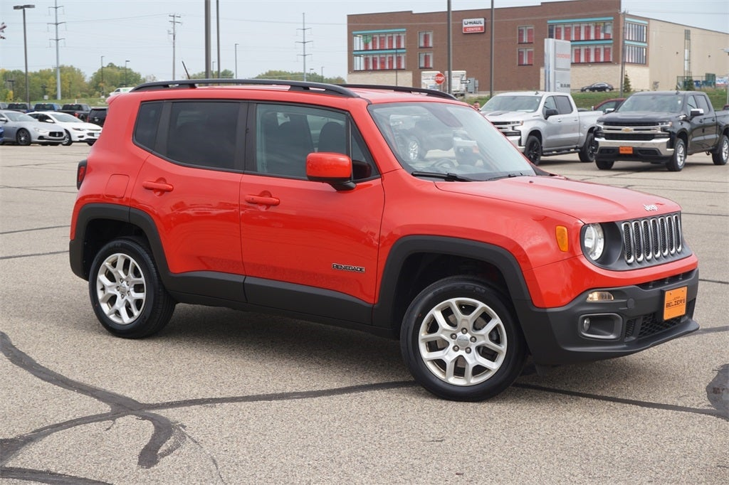 Certified 2017 Jeep Renegade Latitude with VIN ZACCJBBB0HPG32233 for sale in Lakeville, Minnesota