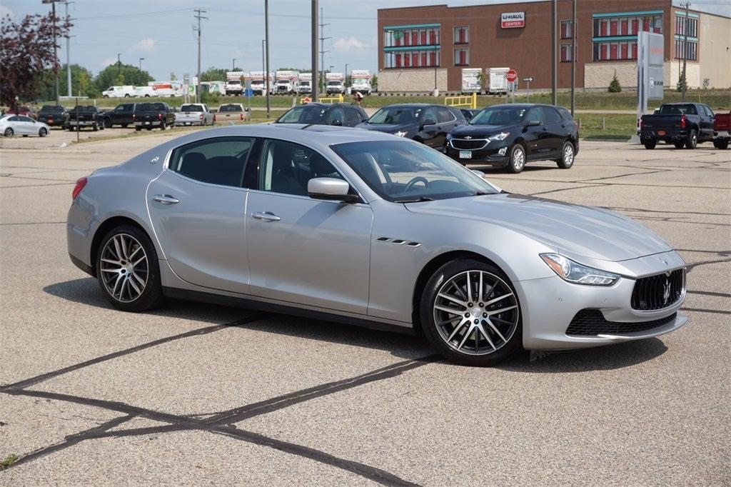 Used 2014 Maserati Ghibli S with VIN ZAM57RTA2E1085964 for sale in Lakeville, Minnesota